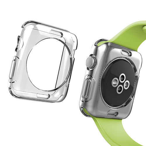 Flexi Gel Slim Protective Case for Apple Watch 42mm - Crystal Clear